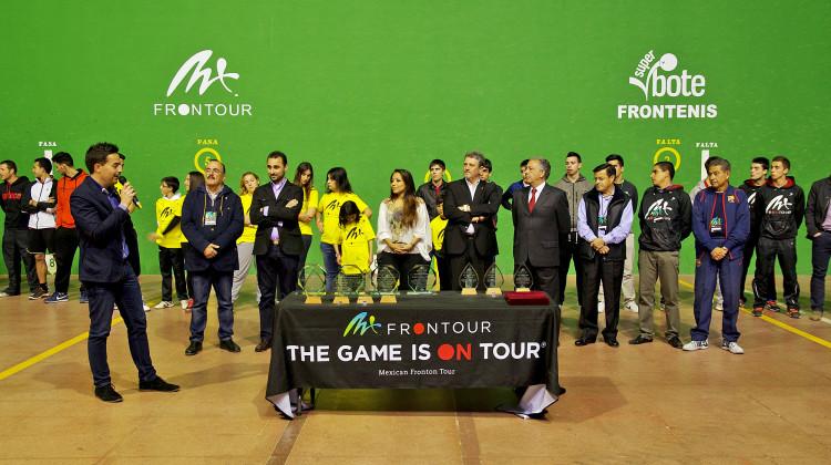 Inauguración del Torneo All Start de MX Frontour