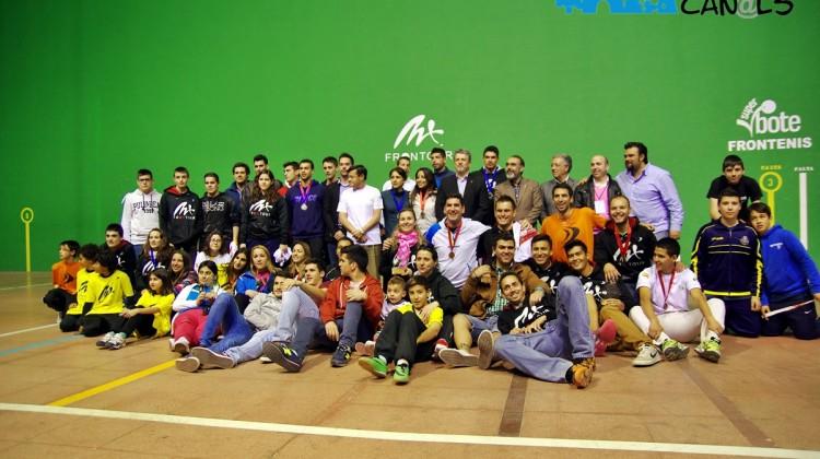 Final del Torneo All Start de MX Frontour en Canals