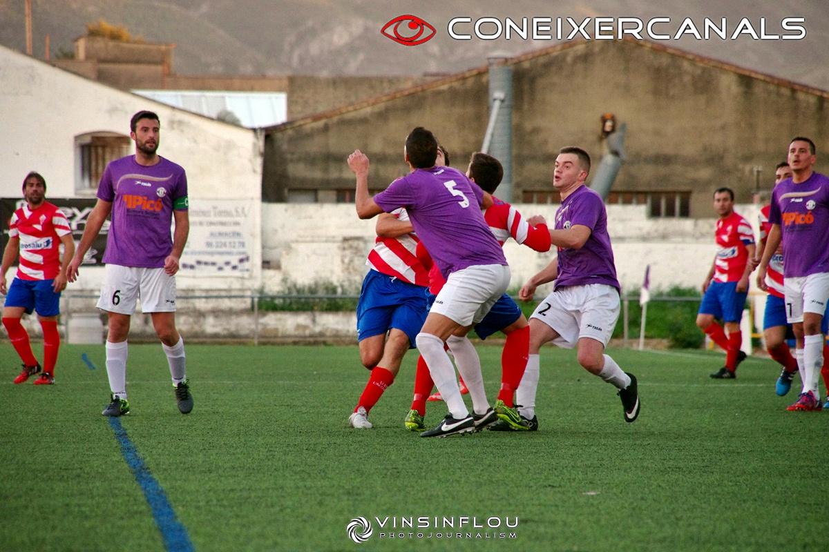 Pego 1-0 Canalense