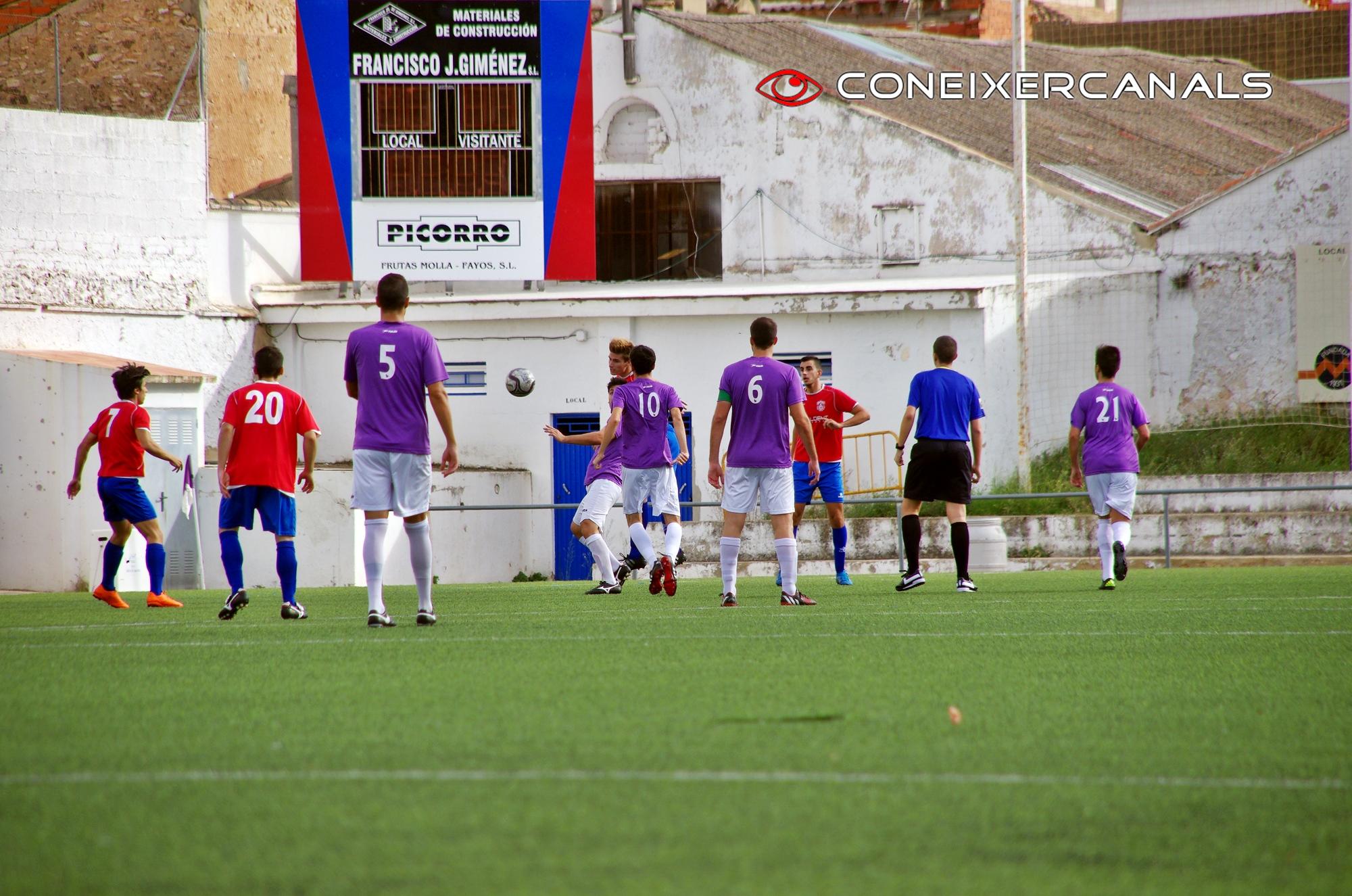 UD Alginet, 4; FC Canalense, 0