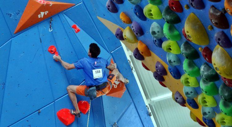Segona prova de la Copa d'Espanya d'escalada del dificultat juvenil i absoluta