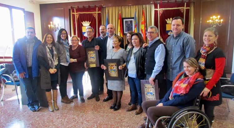L'Ajuntament de la Llosa de Ranes realitza tres homenatges en l'últim ple de l'any