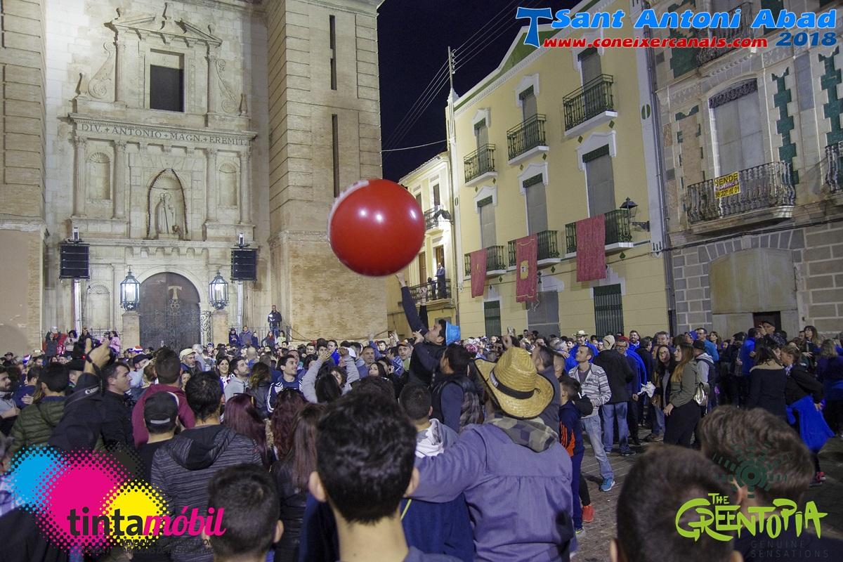 Sant Antoni 2018: Voltes dels Parells