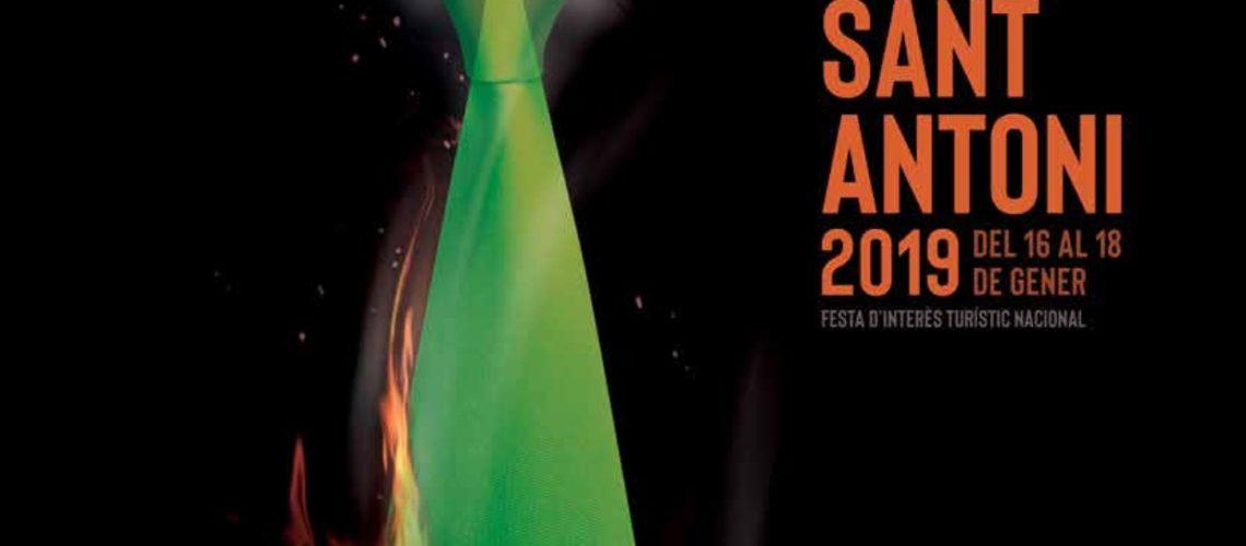 Programa de mà de les Festes Patronals de Canals a Sant Antoni 2019