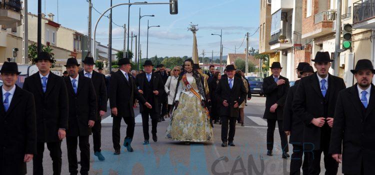 Sant Antoni 2020: Passacarrer casa del Cuiros i Bandera