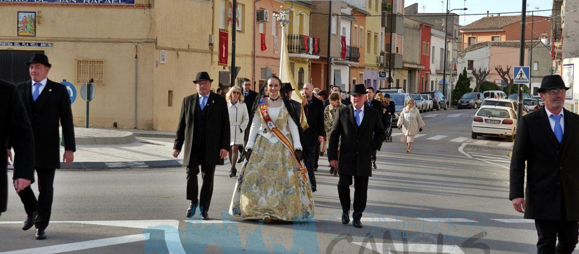 Sant Antoni 2020: Passacarrer previ a la misa dia de Sant Antoni