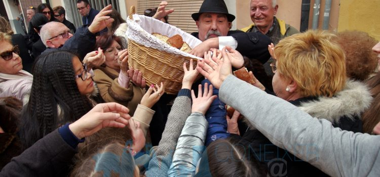 Sant Antoni 2020: Repartiment del Pa Beneït
