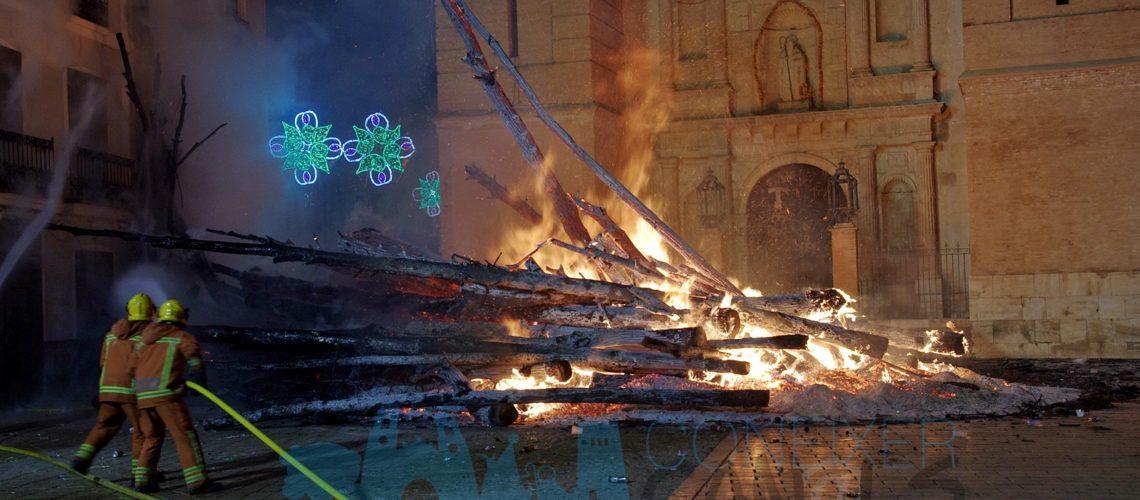 Sant Antoni 2020: Cremá de la Foguera 2