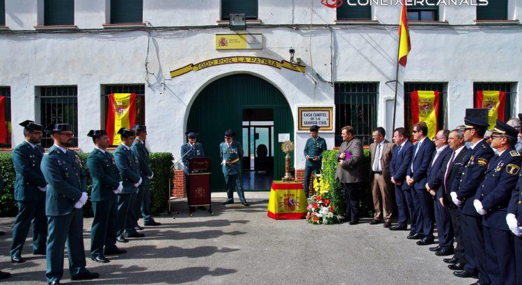 (Fotos y Video) El pueblo de Canals acompaña a la Guardia Civil en la Festividad del Pilar y Día de la Hispanidad en 2013, 2014, 2015, 2016.